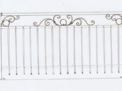 Balustrada/Balkon/Ogrodzenie