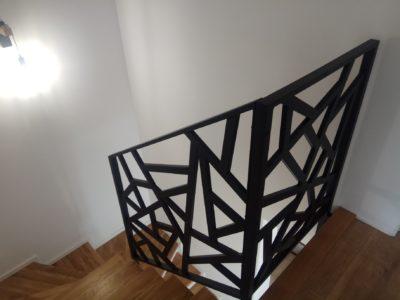 Balustrada geometryczna