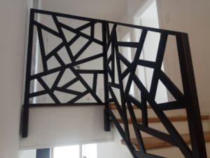 balustrada nowoczesna kowalstwo metaloplastyka design
